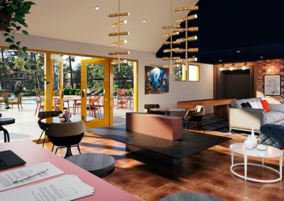 Clubroom and Study