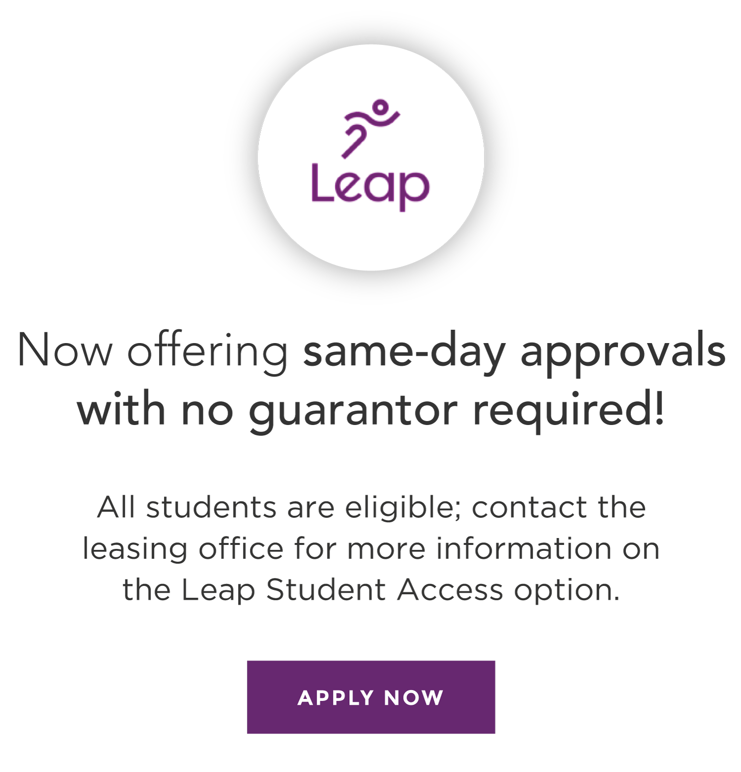 Leap Student Access Options