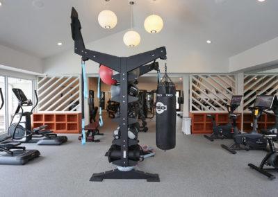 Gym at The Rowan Apartments