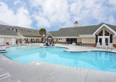 Outdoor Pool at The Rowan Apartments