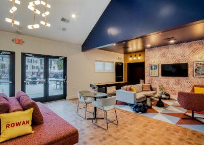Common Room at The Rowan Apartments