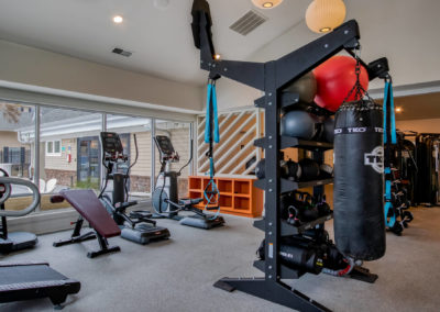 Exercise Room at The Rowan's Columbia, SC Apartments
