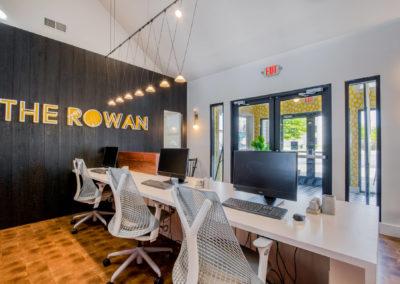 Computer Lap at The Rowan Apartments