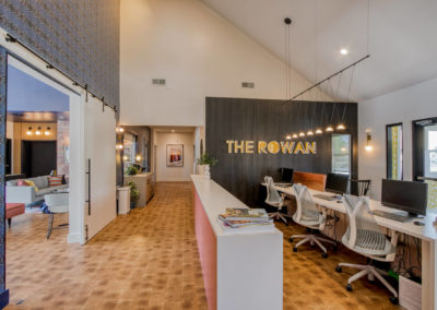 Lounge Area at The Rowan's Columbia, SC Apartments